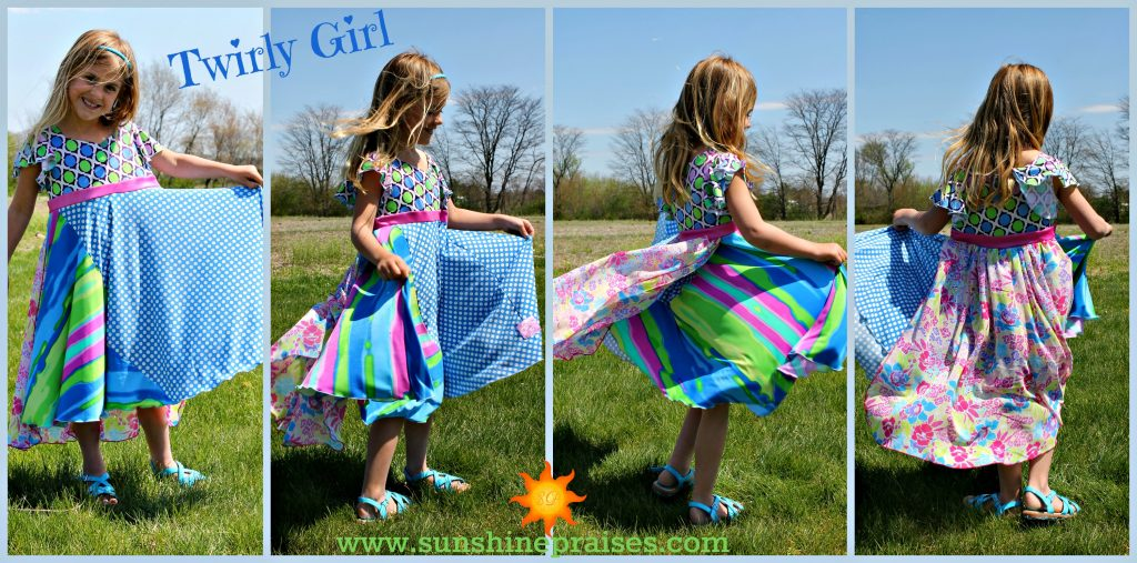 Twirly Girl Dresses 1