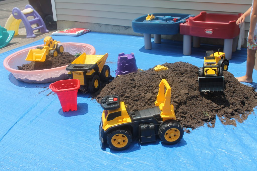 The Big Dig Birthday Party