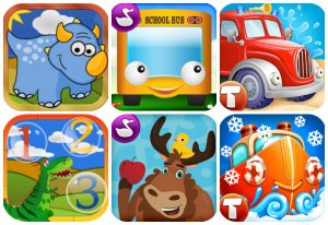 Three Great Toddler Learning & Play Apps