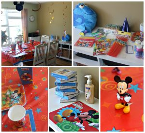 Disney Preschool Party Decorations